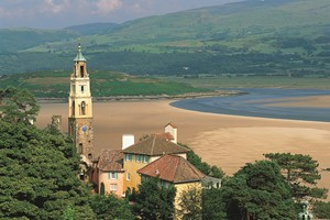 Tower in Portmeirion