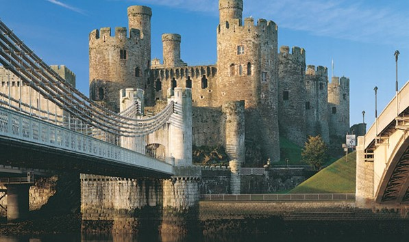 Conwy Castle Bridge View