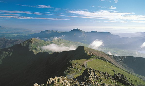 From Snowdon Looking South