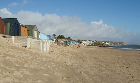 Beach Huts At Abersoch