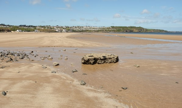 Beach At Low Tides Abersoch 1280X853