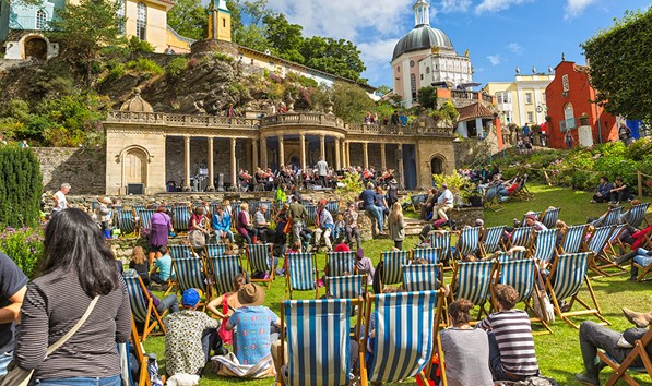 Festival Number 6 at Portmeirion