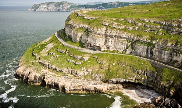 View of Great Orme Cliffs