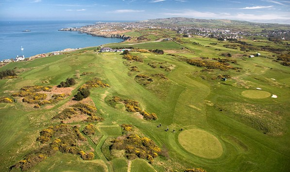 Bull bay Golf Club on Anglesey