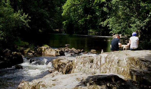 River running through Betws-y-Coed