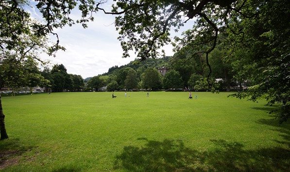 The Green in Betws-y-Coed