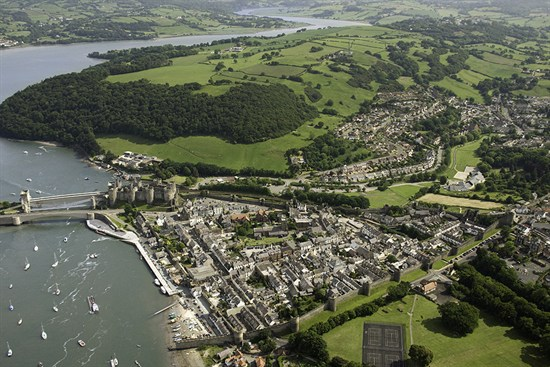 Conwy From The Air