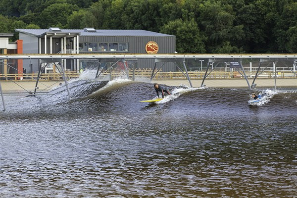 On The Water At Surf Snowdonia