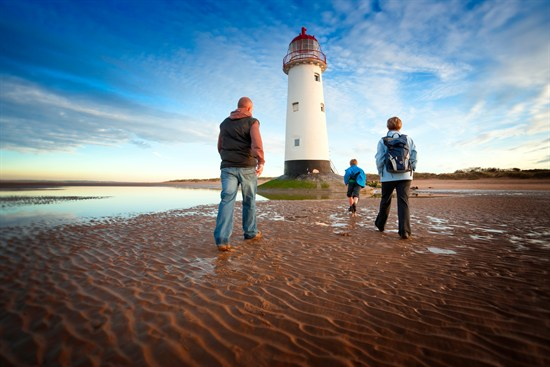 Point of Ayr lighthouse 1