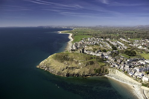 Criccieth Castle And Town