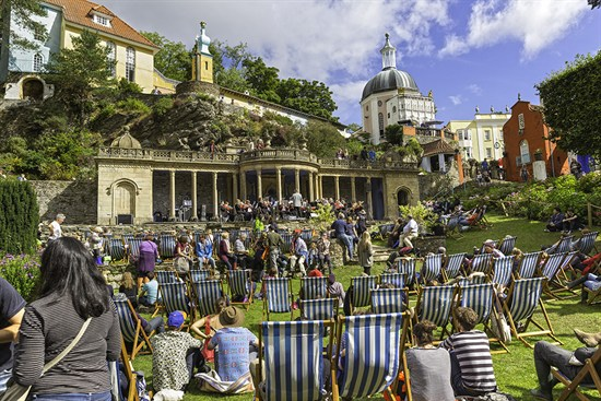 Port Meirion During Festival No 6