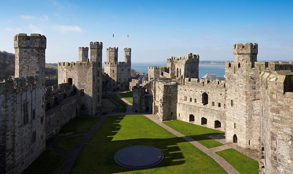 Visit Caernarfon Castle In North Wales North Wales